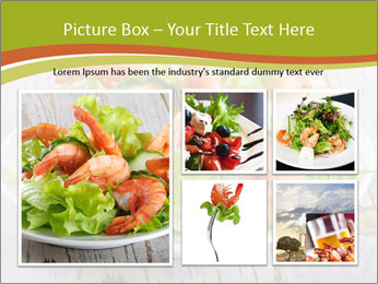 Green salad PowerPoint Template - Slide 19