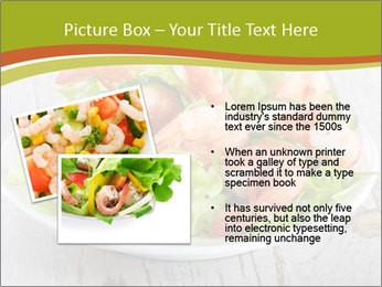 Green salad PowerPoint Template - Slide 20