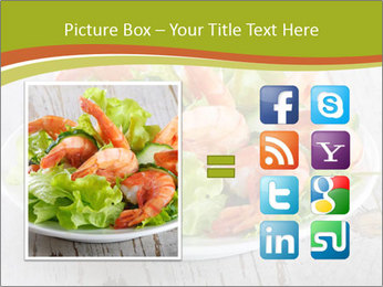 Green salad PowerPoint Template - Slide 21