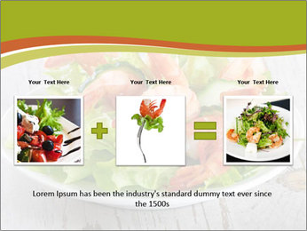 Green salad PowerPoint Templates - Slide 22