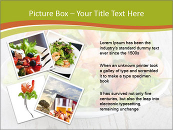 Green salad PowerPoint Templates - Slide 23