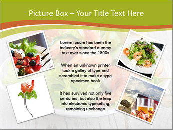 Green salad PowerPoint Template - Slide 24