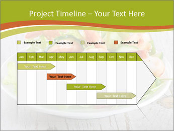 Green salad PowerPoint Template - Slide 25