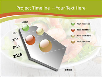 Green salad PowerPoint Template - Slide 26