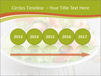 Green salad PowerPoint Template - Slide 29