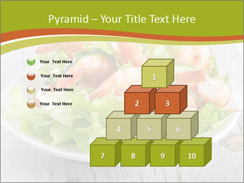 Green salad PowerPoint Template - Slide 31