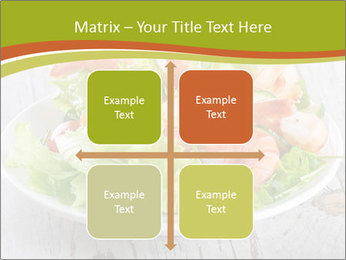 Green salad PowerPoint Template - Slide 37