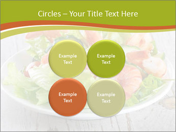 Green salad PowerPoint Template - Slide 38