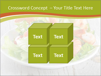 Green salad PowerPoint Template - Slide 39