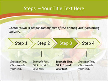 Green salad PowerPoint Template - Slide 4