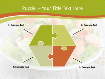 Green salad PowerPoint Template - Slide 40