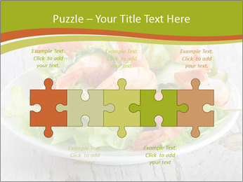 Green salad PowerPoint Template - Slide 41