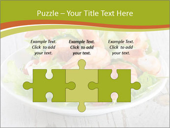 Green salad PowerPoint Template - Slide 42