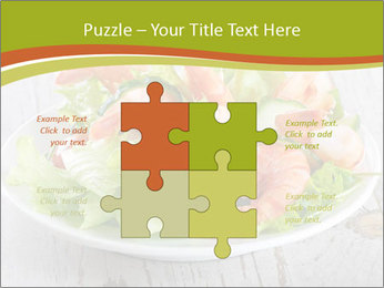 Green salad PowerPoint Template - Slide 43