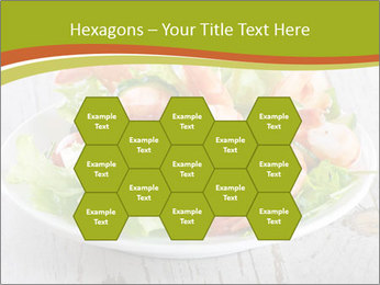 Green salad PowerPoint Template - Slide 44