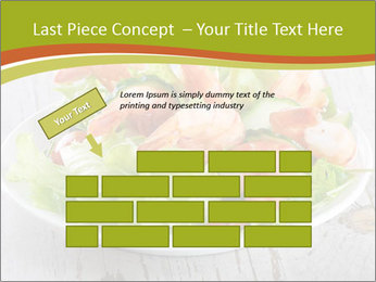Green salad PowerPoint Template - Slide 46