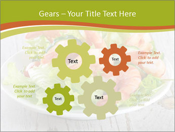 Green salad PowerPoint Template - Slide 47