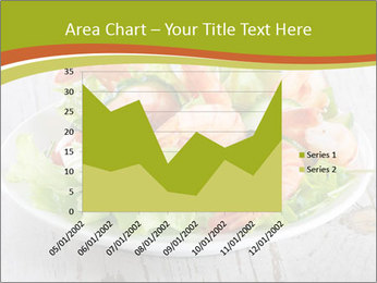 Green salad PowerPoint Template - Slide 53