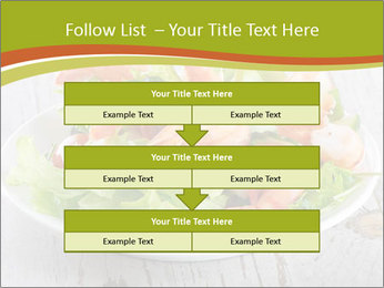 Green salad PowerPoint Template - Slide 60