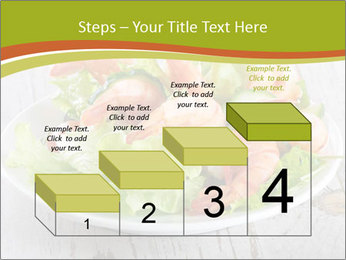 Green salad PowerPoint Template - Slide 64