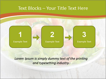 Green salad PowerPoint Template - Slide 71