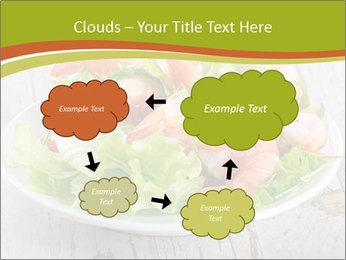 Green salad PowerPoint Template - Slide 72