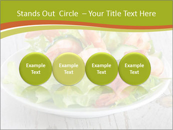 Green salad PowerPoint Template - Slide 76