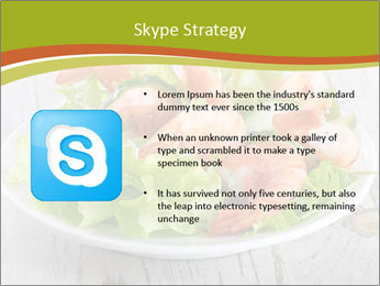 Green salad PowerPoint Template - Slide 8