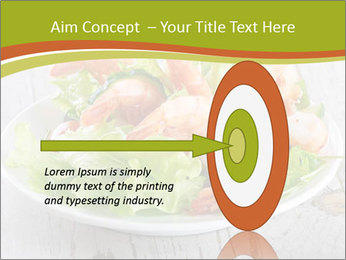 Green salad PowerPoint Template - Slide 83