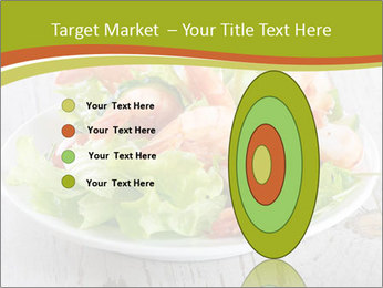 Green salad PowerPoint Template - Slide 84