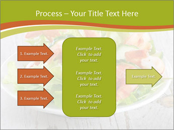 Green salad PowerPoint Template - Slide 85