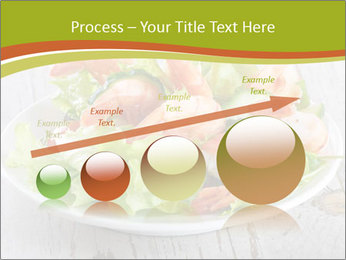 Green salad PowerPoint Template - Slide 87