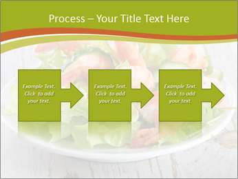 Green salad PowerPoint Template - Slide 88