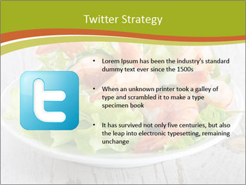 Green salad PowerPoint Template - Slide 9
