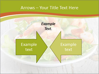 Green salad PowerPoint Template - Slide 90