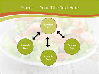 Green salad PowerPoint Template - Slide 91
