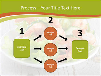 Green salad PowerPoint Template - Slide 92