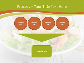 Green salad PowerPoint Template - Slide 93