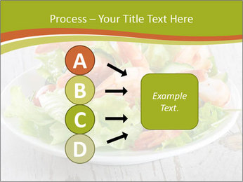Green salad PowerPoint Template - Slide 94