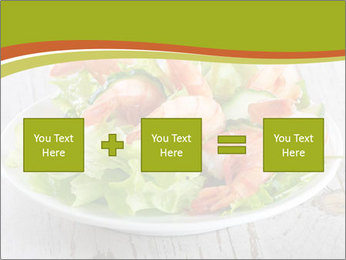 Green salad PowerPoint Template - Slide 95