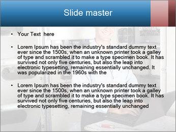 Professional industrial technician PowerPoint Template - Slide 2