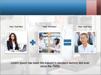 Professional industrial technician PowerPoint Template - Slide 22