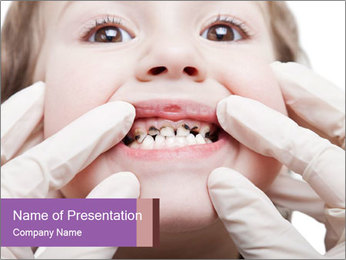 Dental medicine PowerPoint Template - Slide 1
