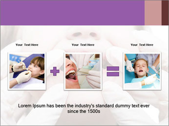 Dental medicine PowerPoint Template - Slide 22