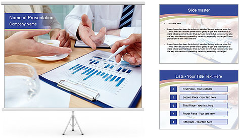 Business document PowerPoint Template