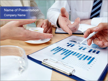 Business document PowerPoint Template - Slide 1