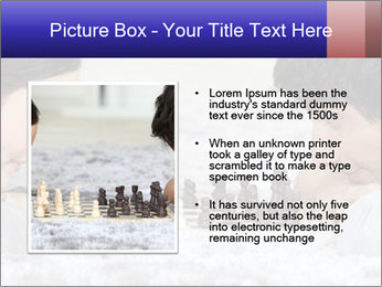 Playing chess PowerPoint Template - Slide 13