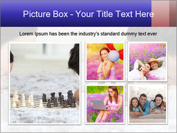 Playing chess PowerPoint Template - Slide 19