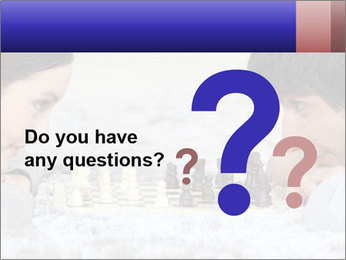 Playing chess PowerPoint Template - Slide 96