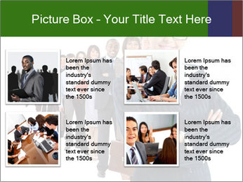 Business woman team PowerPoint Template - Slide 14